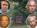 Five elderly men and an 85-year-old woman are arrested for having public sex in a Connecticut park