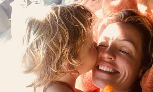 Cat Deeley shares sweetest video of excited sons on campervan holiday