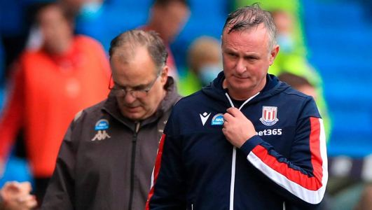Michael O'Neill sets points target for Stoke survival after heavy Leeds defeat