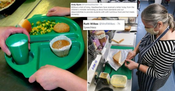 Headteachers left 'speechless' by ministerial letter amid school meals campaign