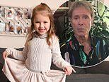 Cliff Richard sends support to girl who survived brain tumour and hopes to hit Christmas chart