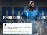 Paul Pogba announces his new team. Call of Duty team Verdansk FC