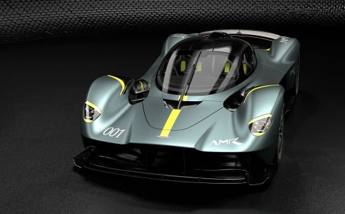 Customers of £2.5m Aston Martin Valkyrie hypercar can specify a track pack. via virtual reality