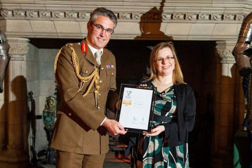 NHS Lanarkshire and recruitment company recognised with top Ministry of Defence award