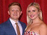 Coronation Street star Sam Aston reveals he is expecting a baby BOY with wife Briony
