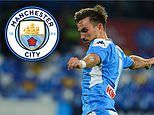 Manchester City 'join Barcelona and Real Madrid in race for Napoli midfielder Fabian Ruiz'