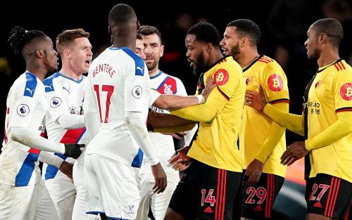 Tempers flare at Vicarage Road as Watford and Crystal Palace huff and puff but fail to threaten