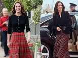 Kate Middleton wows in an identical dress to one worn by Princess Mary of Denmark