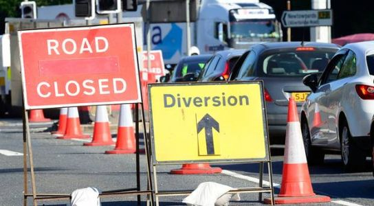 Northern Ireland traffic updates: Antrim roads closed due to Christmas lights switch-on