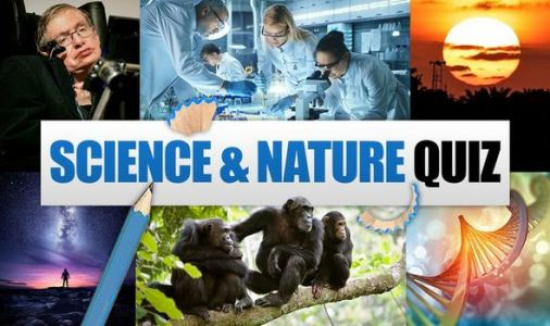 Science and nature quiz questions and answers: 15 questions for your home pub quiz