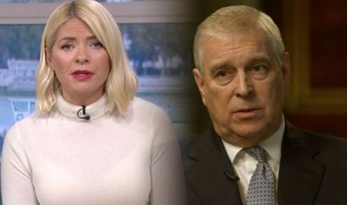 Prince Andrew: Holly Willoughby stunned as viewers demand royal 'retire from front line'