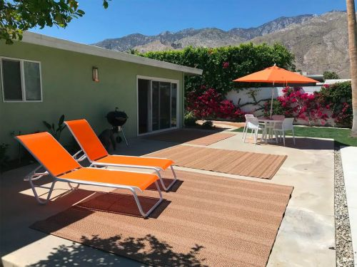 I took my family to a Palm Springs Airbnb for our first post-lockdown getaway - here's how it went