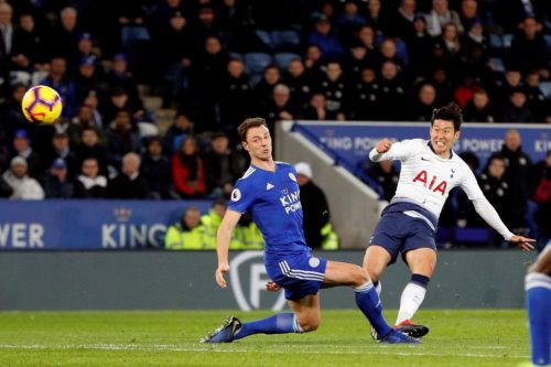 Leicester 0 Tottenham 2: Son-Heung Min's stunning strike and Dele Alli header earn victory over Foxes to send Spurs third