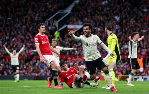 Mohamed Salah breaks Premier League record as Liverpool score four goals in first half against Manchester United at Old Trafford