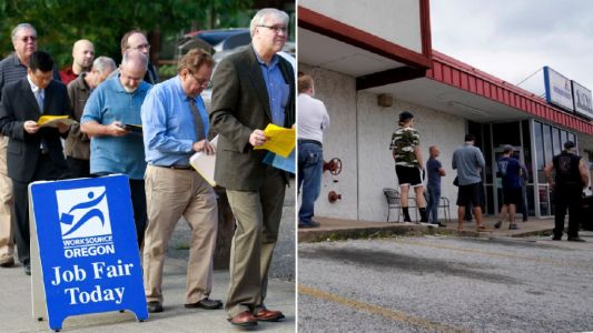 US jobless total tops 40 million as 2 million more are left out of work
