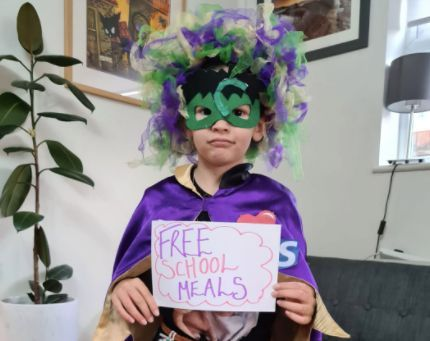8-Year-Old Invents Most 2020 Superhero Ever For Dress-Up Day