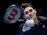 Roger Federer comes out on top in winner-takes-all clash with rival Novak Djokovic at the ATP Finals