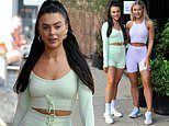 Love Island's Rosie Williams and Molly Smith attendfitness event in Manchester