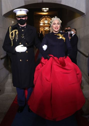 Lady Gaga Delivers Stunning Performance At Joe Biden's Inauguration Ceremony