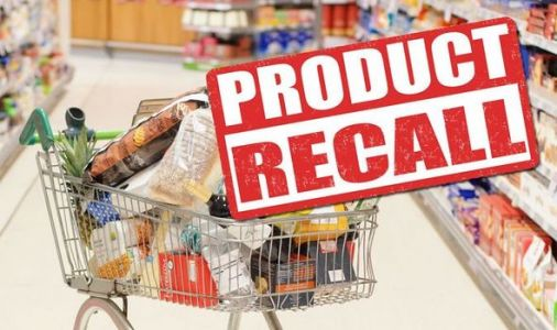 Food recall: FSA makes urgent warning over a number of products sold in UK supermarkets