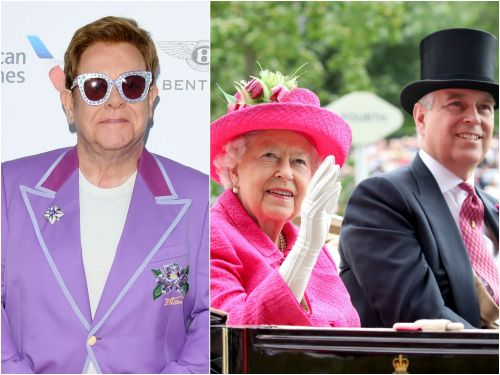 Elton John called Prince Andrew's 21st birthday party 'the world's quietest disco' because no one wanted to offend the Queen