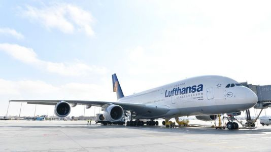 Lufthansa operates special flight between Frankfurt and Delhi