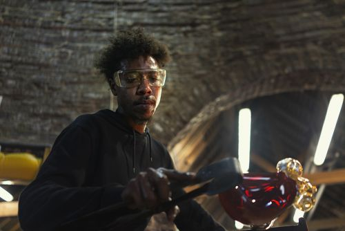 Why I Make: Glassblowing in the UK with Jahday Ford