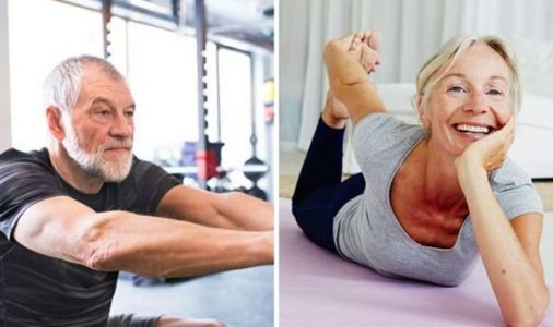 How can older people keep fit at home: Five exercises to keep you fit during lockdown