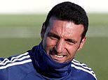 Argentina boss Lionel Scaloni released from hospital after being hit by a car while riding his bike