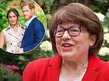 Prince Harry's royal biographer Angela Levin says he has become 'a shadow of his former self'