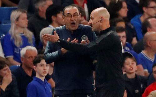 Maurizio Sarri 'offended by comment from Burnley bench', as Callum Hudson-Odoi is ruled out for the season