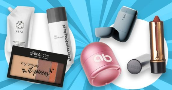 Turn your makeup bag green with refillable makeup, skincare and hair products