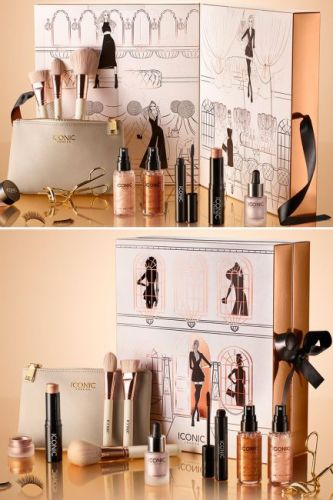 ICONIC London launch beauty advent calendar full of your favourite makeup - and it's on sale