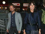 Davina McCall, 51, and hairdresser boyfriend Michael Douglas, 45, make first public outing