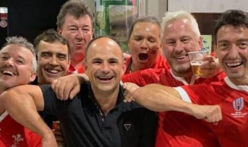 Rugby World Cup referee Jaco Peyper angers France after posing with Wales fans