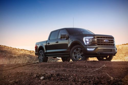 The new Ford F-150's coolest feature turns it into a true a work truck in every sense with a folding desk