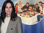 Courteney Cox shares throwback photo of the final Friends table read 16 years to the date