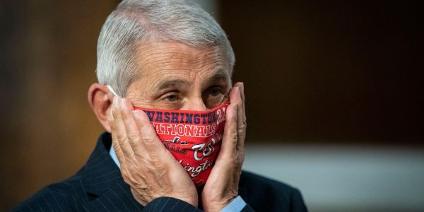 Fauci said he thinks it's 'inconceivable' that he's received death threats 'when you are trying to promote public health principles to save people's lives'
