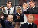Manchester United 'draw up four-man shortlist to replace Ole Gunnar Solskjaer' with Zidane and Conte
