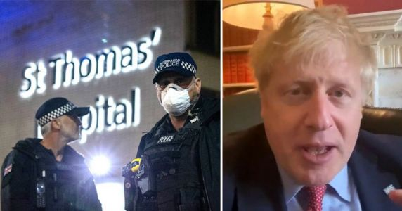Doctor took one look at Boris on Zoom and ordered him to go straight to hospital