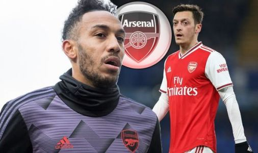 Arsenal facing Pierre-Emerick Aubameyang transfer problem because of Mesut Ozil