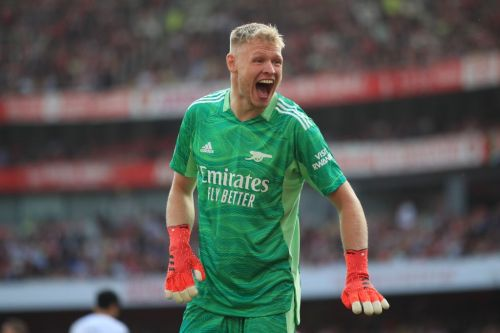 Aaron Ramsdale annoyed with himself despite Arsenal's dominant win over Tottenham