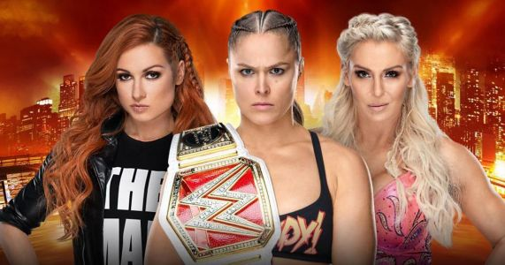 WWE confirm Ronda Rousey vs Charlotte Flair vs Becky Lynch will be main event at Wrestlemania