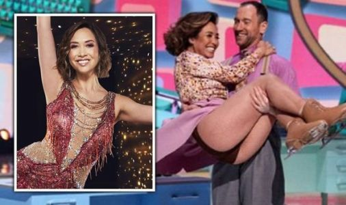 Dancing on Ice: Myleene Klass' first performance in jeopardy after double knee injury