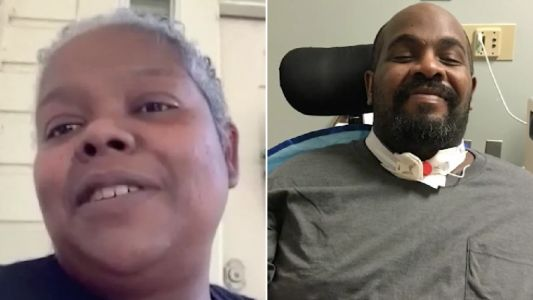 Wife claims hospital let husband die of coronavirus because he was disabled