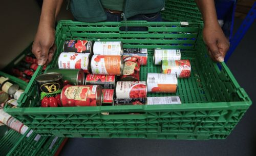 Demand rises at almost 70% of food banks after Universal Credit cut