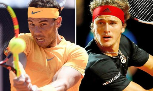 Rafael Nadal vs Alexander Zverev LIVE: Italian Open final latest score and highlights