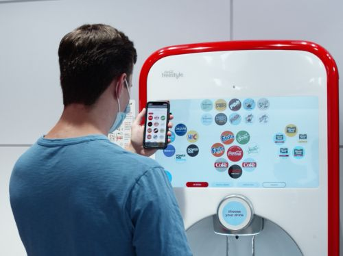 Coca-Cola is using Amazon tech to let you pour drinks by tapping your phone at 52,000 Freestyle soda fountains