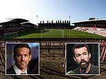 Hollywood actors Rob McElhenney and Ryan Reynolds are looking to invest in Wrexham