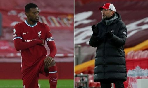 Liverpool boss Jurgen Klopp sends clear Gini Wijnaldum message to FSG in Burnley loss